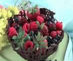 Шоколадные вазочки для десерта - 6.jpg