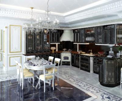 Какой цвет кухни Вы выбираете? - Кухня черная 1.jpg