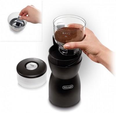 Как выбрать кофемолку для дома - 01 Кофемолка Delonghi KG40.jpg