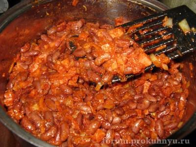 Фасоль с колбасой в томатном соусе - 06.JPG