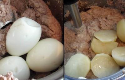 Форшмак селедочный - Яйца и картофель.jpg
