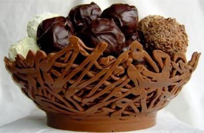 Шоколадные вазочки для десерта - 7.jpg