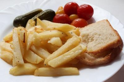 Любимые рецепты приготовления жареной картошки - IMG_2335.JPG