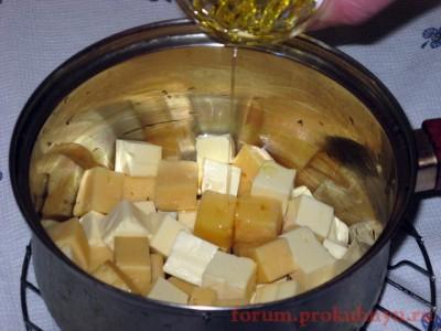 Фоторецепт: сырный суп-пюре с грибами - 13 Сырный суп-пюре с грибами.JPG