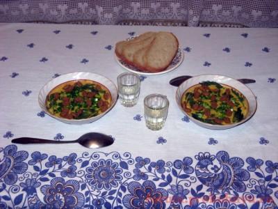 Приятного аппетита  - 18 Сырный суп-пюре с грибами.JPG