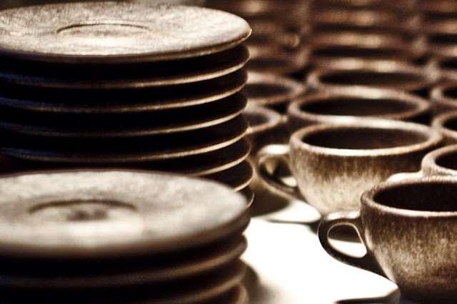 Картинки по запросу посуду из кофейной гущи.