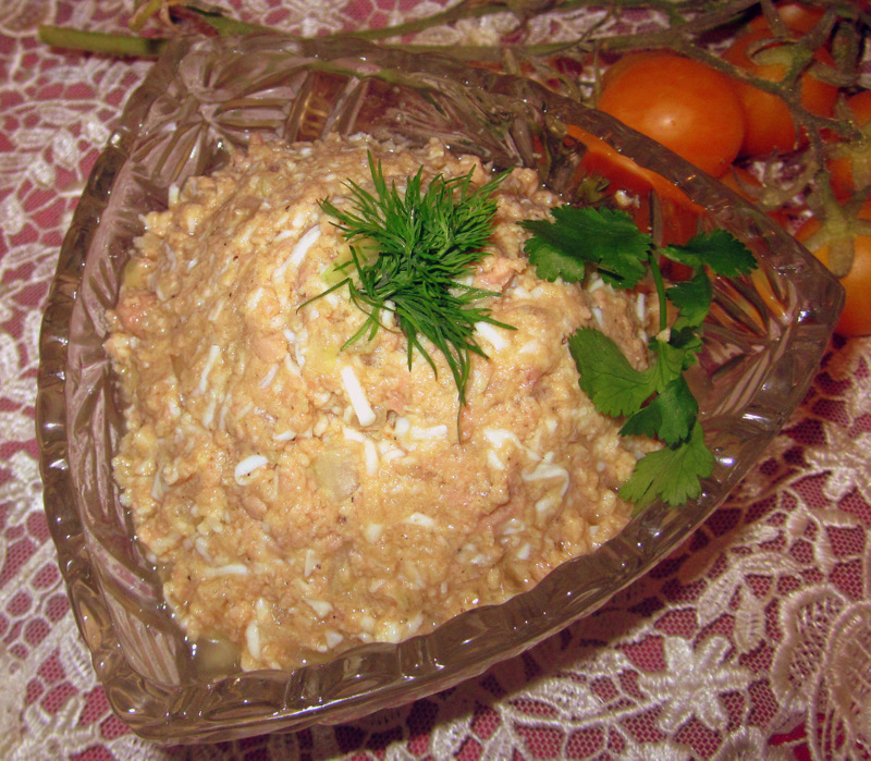 паштет из тресковой печени рецепты
