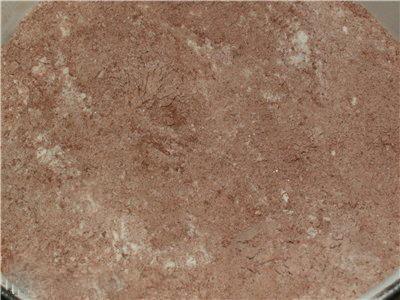 Шоколадные оладушки - Смесь сухих компонентов.jpg