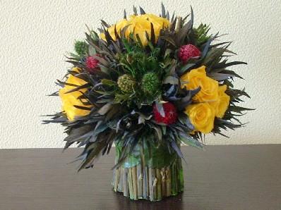 Стабилизированные цветы на кухне - DSCN5779.JPG