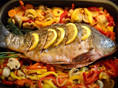 Запеченная рыба с овощами - в духовку.jpg