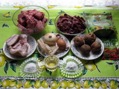 Фото рецепт котлет из фарша птицы и куриной печени - 01 Котлеты из мяса птицы и куриной печени.JPG