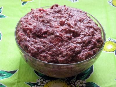 Фото рецепт котлет из фарша птицы и куриной печени - 02 Котлеты из мяса птицы и куриной печени.JPG
