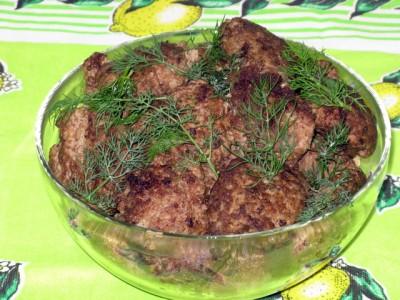 Фото рецепт котлет из фарша птицы и куриной печени - 03 Котлеты из мяса птицы и куриной печени.JPG