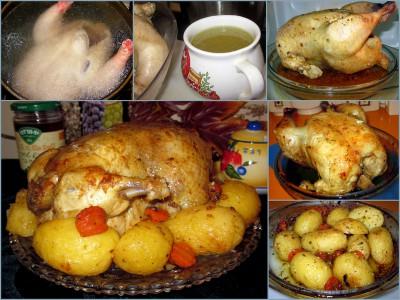 Суп с цыплёнком по-французски - Цыпленок.jpg