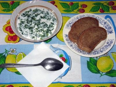 Фото рецепт болгарского холодного супа «Таратор» - 07 Tarator.JPG