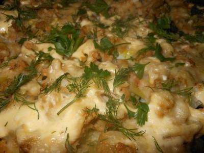 Рецепты блюд из цветной капусты - Готовая капуста крупным планом.jpg