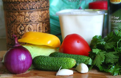 Закрученные овощи в лаваш с белым соусом в духовке - 1.jpg