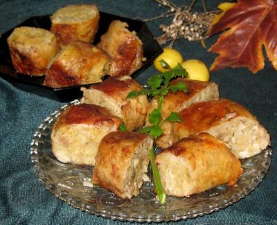 Куриная фаршированная шейка еврейская кухня  - IMG_1378.JPG