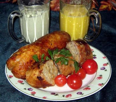 Куриная фаршированная шейка еврейская кухня  - IMG_1436.JPG