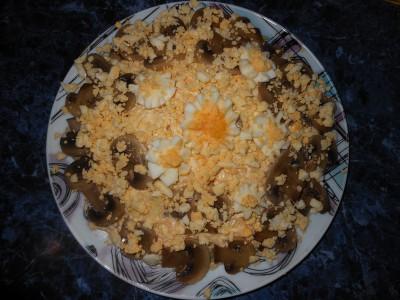 Салат с фасолью постный с майонезным постным соусом  - Получился салатик.jpg