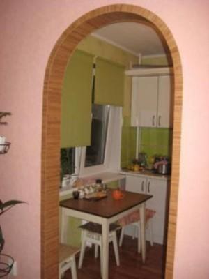 Планировка кухни - Арочный вход в кухню.jpg