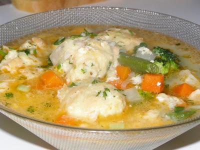 Суп с рыбно-картофельными фрикадельками и овощами - презентация.JPG