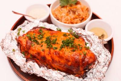 Как приготовить мясо в аэрогриле - 01 Roasted meat.jpg