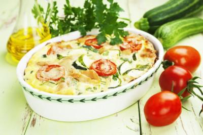 Как приготовить мясо в аэрогриле - 02 Zucchini baked with chicken.jpg