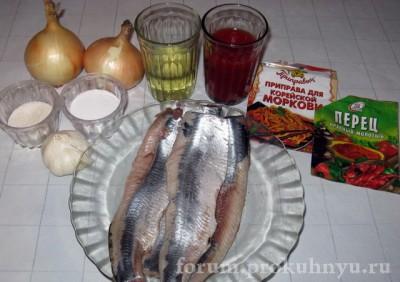 Фото рецепт: сельдь по-корейски острый посол  - 01_Seld_po-korejski.JPG