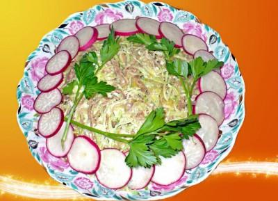 Разнообразные салаты из редьки - P1070119_1.jpg