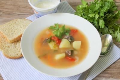Томатный суп с отварной говядиной - 079.jpg