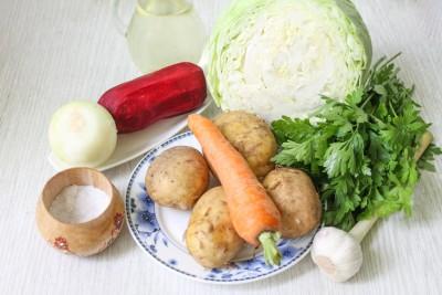 Борщ из молодых овощей с зажаркой - 2.jpg