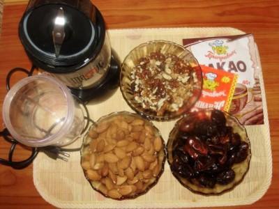 Орехово-шоколадные конфеты - P1280519.JPG