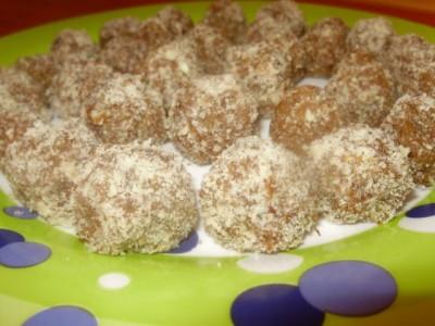 Орехово-шоколадные конфеты - P1280538.JPG