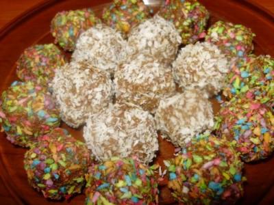 Орехово-шоколадные конфеты - P1280544.JPG