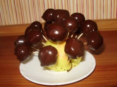 Орехово-шоколадные конфеты - P1290586.JPG