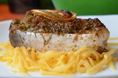 Рыба с зеленью запечённая в духовке - DSC_0461.JPG