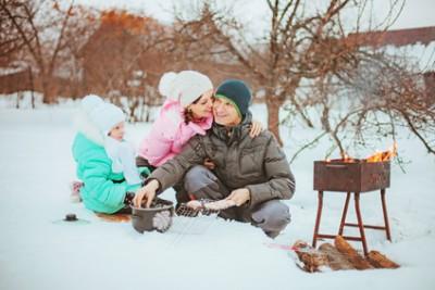 Устраиваете ли вы зимой пикники на природе? - Winter picnic.jpg