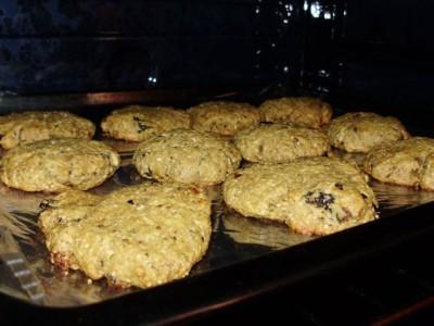 Овсяное печенье без сахара - P2020690.JPG