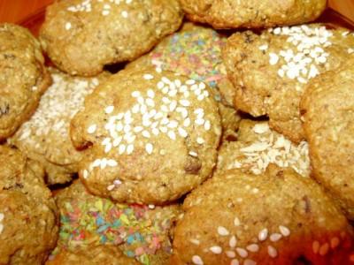 Овсяное печенье без сахара - P2020695.JPG