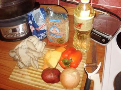 Фоторецепт: постный суп с вешенками и гречкой - P1140435.JPG