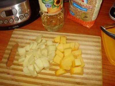Фоторецепт: постный суп с вешенками и гречкой - P1140442.JPG