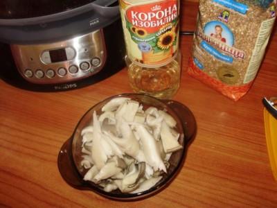 Фоторецепт: постный суп с вешенками и гречкой - P1140443.JPG