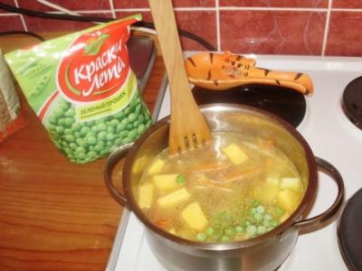 Фоторецепт: постный суп с вешенками и гречкой - P1140450.JPG