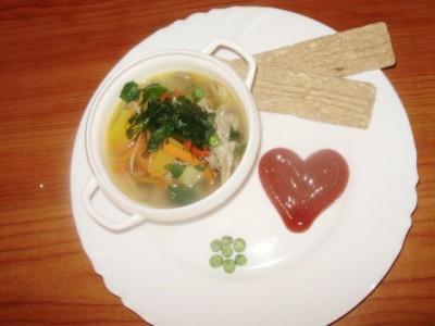 Фоторецепт: постный суп с вешенками и гречкой - P1140455.JPG