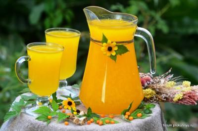 Освежающий напиток из облепихи и листьев мяты - 00 Напиток из облепихи и листьев мяты.jpg