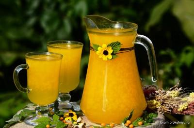 Освежающий напиток из облепихи и листьев мяты - 11 Напиток из облепихи и листьев мяты.jpg