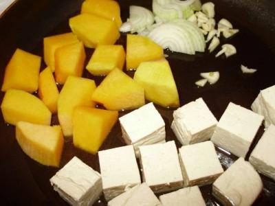 Жареный тофу с тыквой - P2040710.JPG