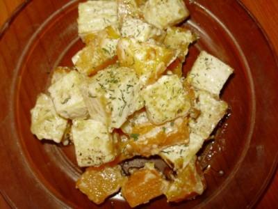 Жареный тофу с тыквой - P2040722.JPG