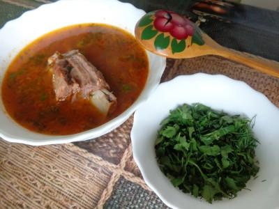 Томатный суп с говяжьими ребрами - DSC02953.JPG